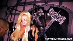 TS Fabiola Blonde Trans BDSM Domination