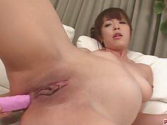 Hot japanese bondage and toy fucking with Marika