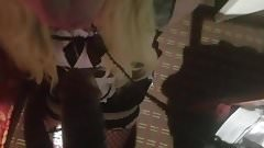 Submissive Sissy Maid BBC Blowjob