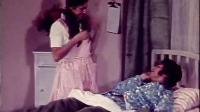 Preview 1 of A Naughty Nurse's Blowjob is Great (1960s Vintage)