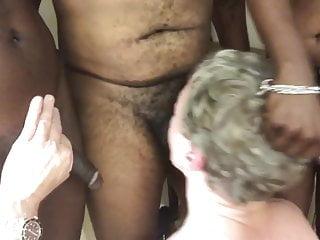 3 Big Black Cocks Fuck My ThroatDeep All Night Long