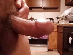 Curved thick small horny dick jacking play #1 -