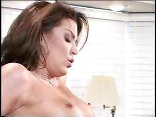 Brunette with nice tits sucks cock and gets fucked on piano
