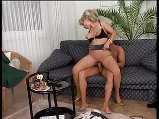Vivia Nasty Hot German MILF Stockings