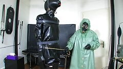 Strict heavy rubber mistress 3 of 5