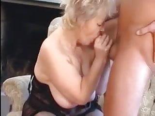 Granny Seduces Young Man
