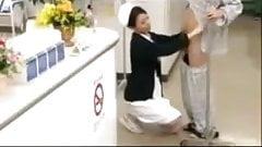SB2 Nurse Gives A First Class Reception !