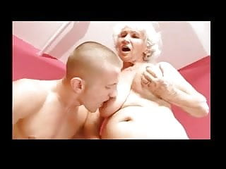 Granny Betty Fucked by Young Cock