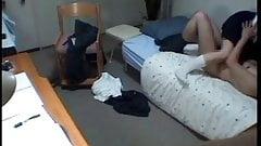 Asian Girl Student's Room Voyeur Sex