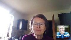 Saggy Tits Granny on Cam