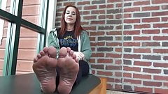 Milf Soles Begging For A Load