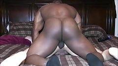 Black Military king pound sissy