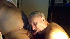 Mature men sucking dick