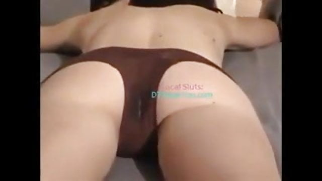 amateur cuck wears panties and takes black cock