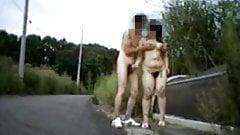 Amateur nudist couple