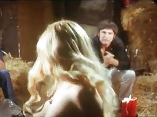 sexy blonde hippie girl vintage striptease to nude 1970