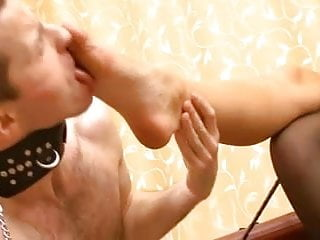 Shoes, stockings and feet worship