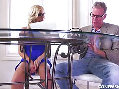 Summer Day Has The Hots For Her Tutor and Seduces Him