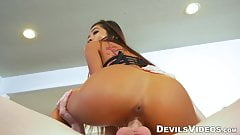 Stunning Asian Vina Sky POV fucked until a happy ending