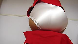 Red Suit Knickers And Stockings