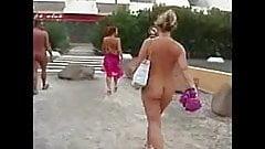 Women nude walking american