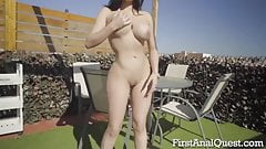 Big tits anal