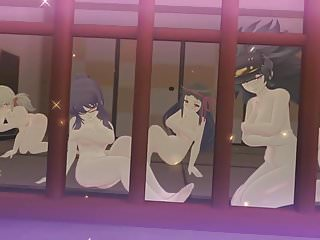 Senran Kagura Sexy Team Finisher Compilation Hidden Room