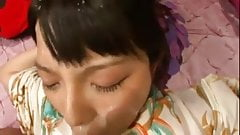 Japanese cumshot (censored)