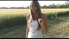Duitse amateur anale seks in de buitenlucht