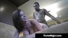 Naughty Milf Sara Jay Gives Rome Major Best Interracial Fuck