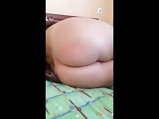 Guy shows off his hot girlfriends shaved pussy on Periscope