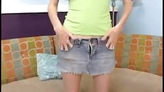 Pigtails Teen's First Cam ...F70