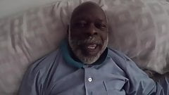 Black Grandpa Dick Suck by my Ex Girlfriend and her Daughter's Thumb