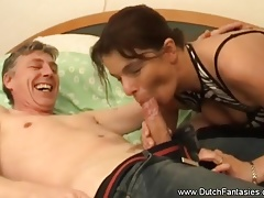 Dutch MILF Demands Rough Fuck