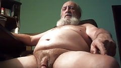 Grandpa Strokes and Cums