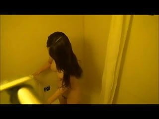 Nicely Places Bathroom Spycam Shower - Pretty Asian Body