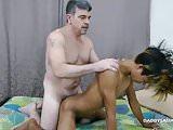 Daddy Barebacks Asian Boy Clark