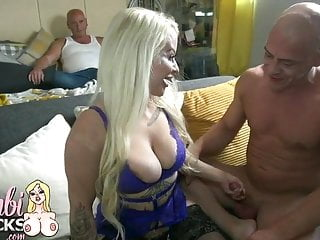 Midget Blonde Takes On Huge Spunker