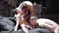 21Sextury Blue Angel RETURNS 2 Porn With Big Dick 3-Way!