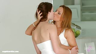 Lovemaking the lesbian way with Sylvia Lauren and Chloe