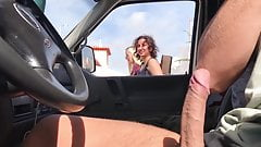 Car dick flash girls looking 4