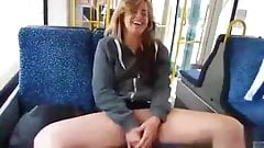 Not My Daughter Playing With Her Pussy On The Train