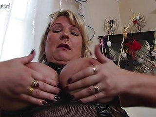 Sexy busty mother needs a good fuck