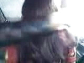 Indian Girl in Car with Boyfriend