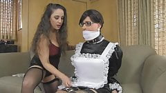 Sissymaid cleaning part 1