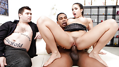 Hubby Sees Wife Mira Cuckold Fuck Black