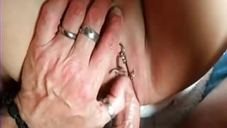 My Sexy Piercings tattooed and pierced couple Lots of rings