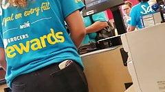 Teen pawg cashier