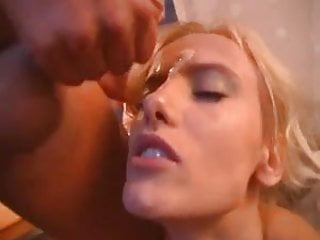 German Blondie In Cute Red Boots Gets Boned And Cummed On