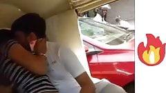 Public kissing